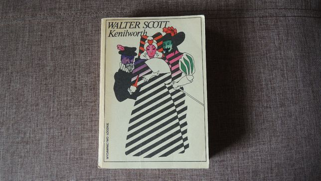 "Książka ""Kenilworth"" Walter Scott (Białystok)"
