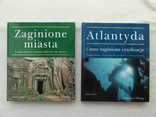 Zaginione miasta i Zaginione cywilizacje - książki