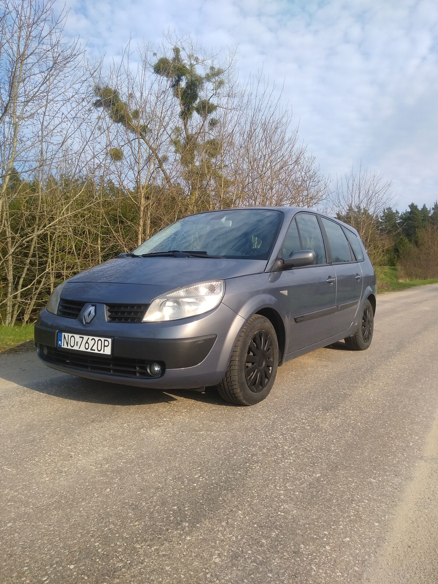 Renault Grand Scenic 7-osobowy Panorama Super Stan 2007 rok.