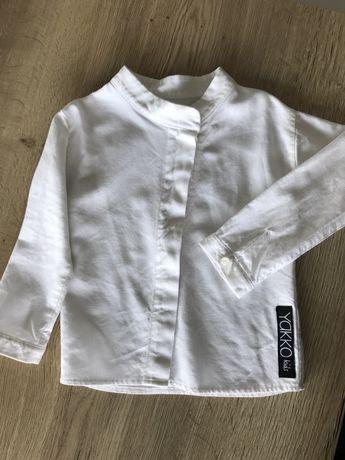 Koszula lniana Yakko Kids jak booso, rozmiar 98/104