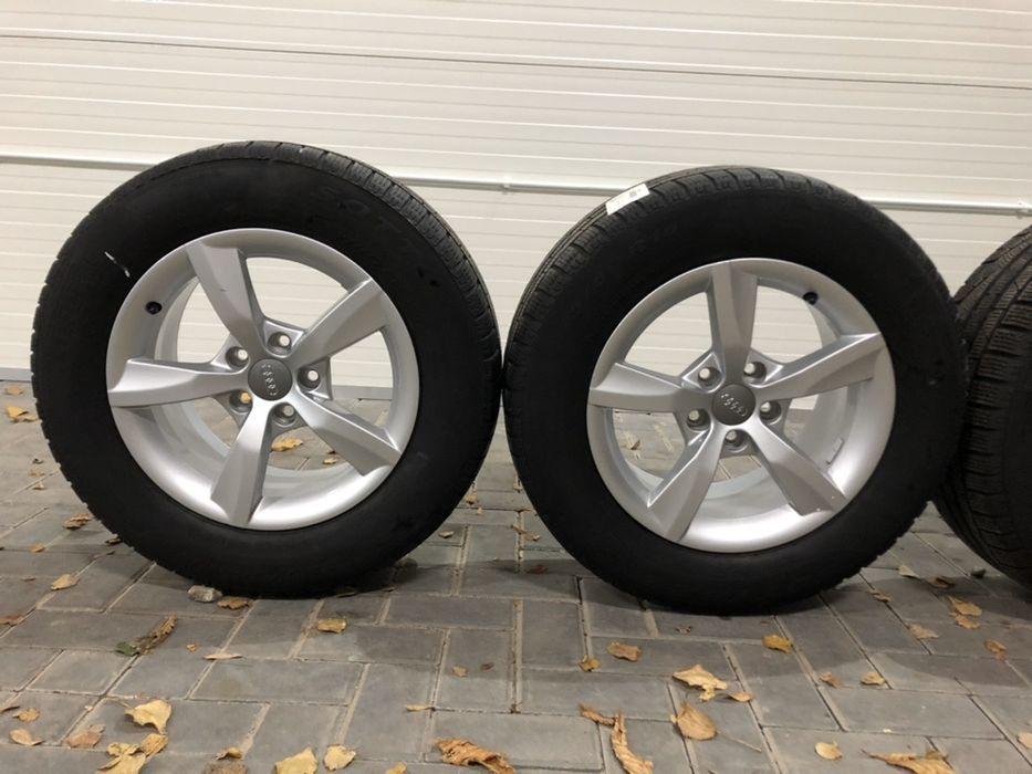 Alufelgi koła AUDI a3 a4 a5 a6 16 5x112+opony Pirelli 225/60r16!!! Wałbrzych - image 1
