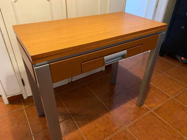 Mesa/consola de apoio extensível (cozinha)