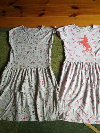 Sukienki dziewczęce 2 szt, roz 143-151