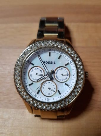 Oryginalny klasyczny zegarek damski FOSSIL