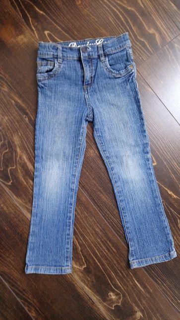 Spodnie dżinsy r.110