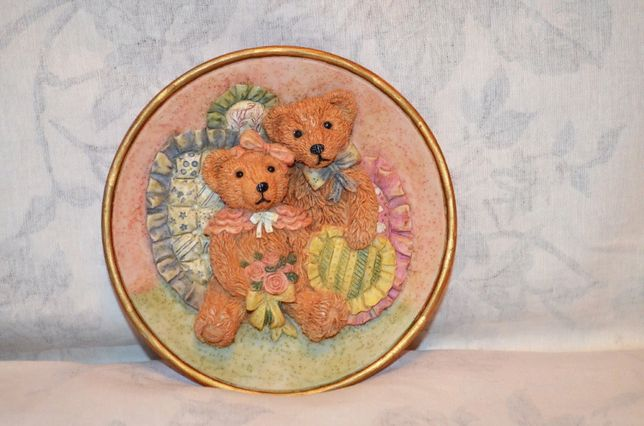 Декоративная подвеска с мишками, romance by regency fine arts