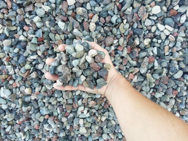 Kamień otoczak 2-8 mm,8-16 mm,16-32 mm. Żwir ogrodowy ozdobny, drenaż