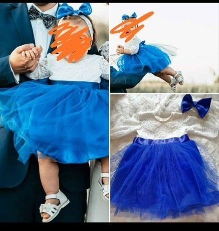 Sukienka dziewczęca  na chrzciny, wesele