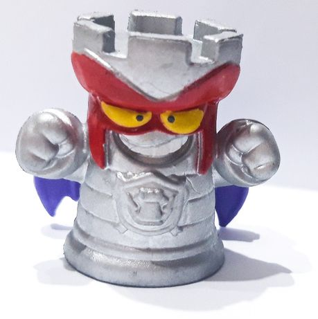 Super Zings seria 5 TOP TOWER 374 rare Silver srebrna figurka kid fury