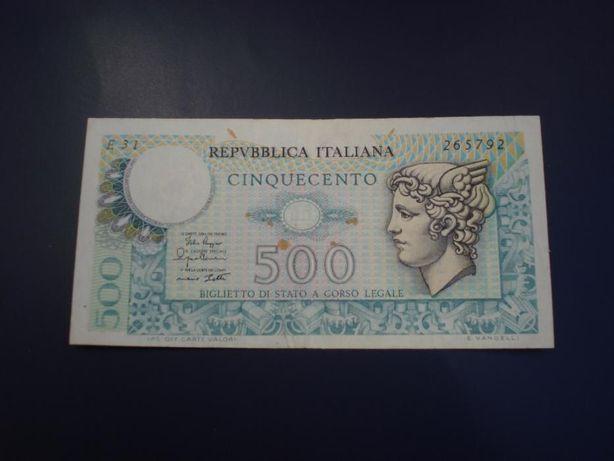 Nota de 500 Liras