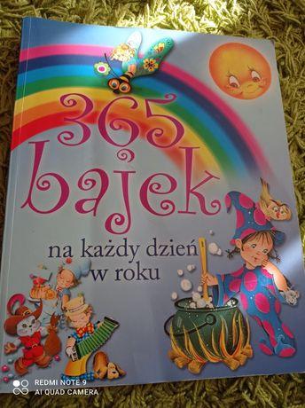 książka 365 bajek