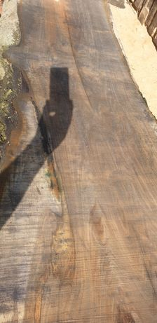 Blat drewniany lite drewno deska stół półka meble drzewo loft orzech