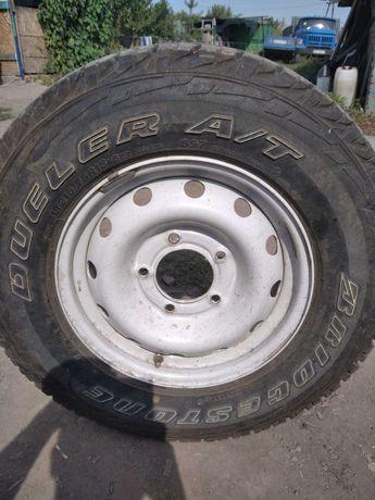 BRIDGESTONE Dueler A/T 205/75R15    2 колеса