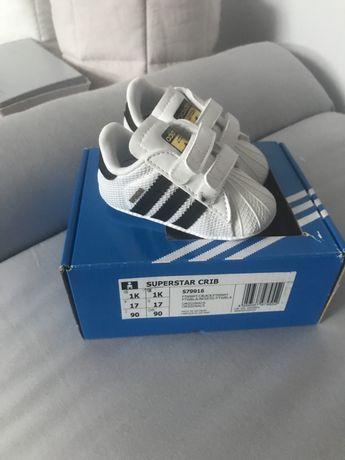 Buty adidas superstar dla niemowlaka
