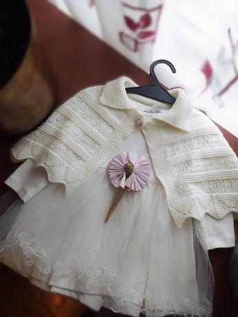 Білосніжна дитяча сукня