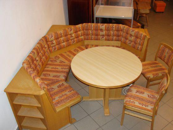 Narożnik rogówka stół krzesła - nowa obniżona cena
