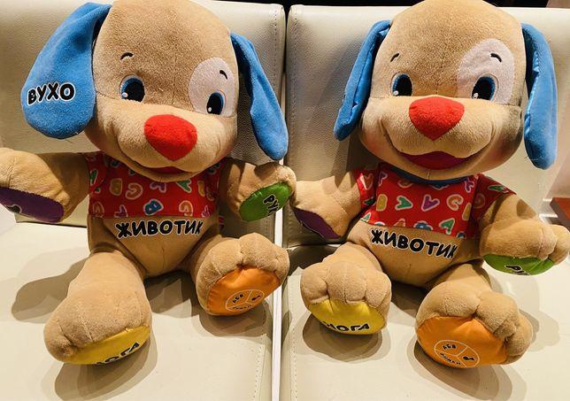 Интерактивная игрушка Fisher-Price умный щенок  на украинском языке