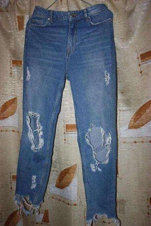 джинсы bershka mom