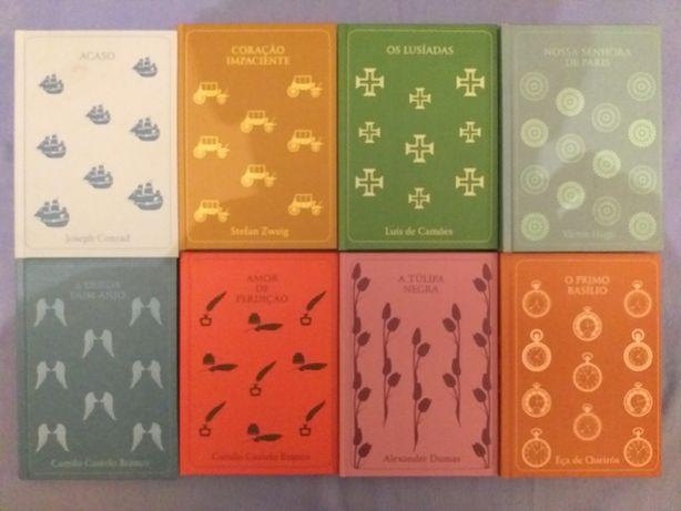 LivrosClássicos.Coraçãolmpaciente,QuedaAnjo,TulipaNegra,Lusiadas,Nossa