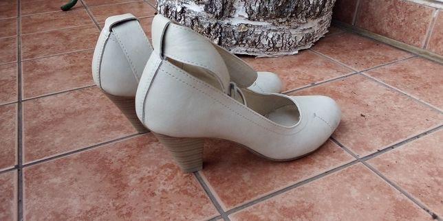 Skórzane buty rozm. 36
