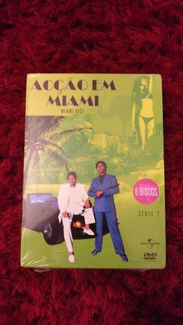 [NOVO] 6 DVD Miami Vice