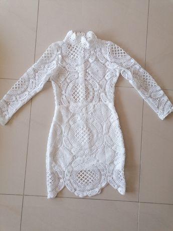 Sukienka koronkowa ślub xs