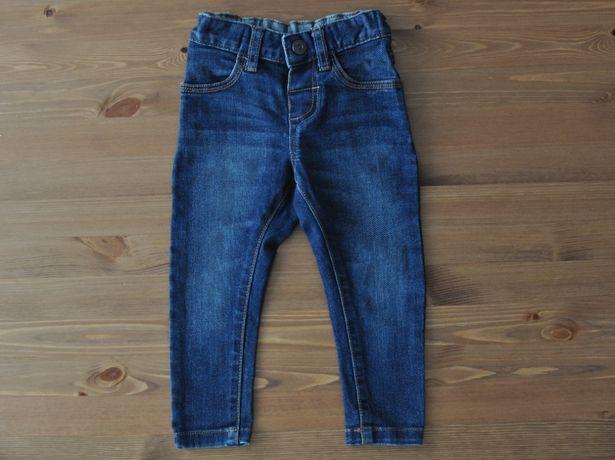 NUTMEG Spodnie jeansy r. 86 (12-18 m-cy)
