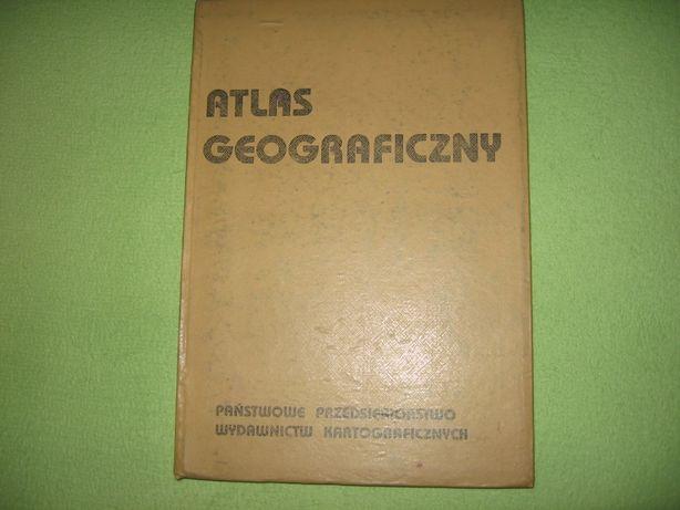 A N T Y K !!! Atlas Geograficzny z 1987 roku
