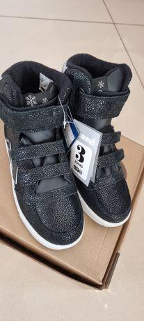Кожаные ботинки Hummel 28.29.30.31.32 33 34 35 36 37 38 40 Маломерят