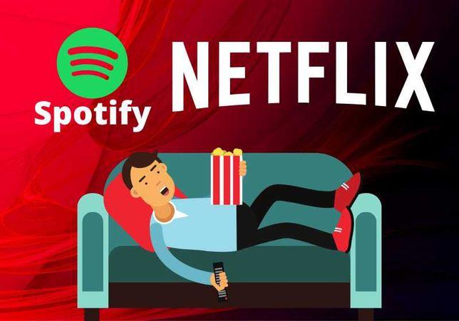 Netflix Konta PREMIUM Spotify XBOX AUTOMAT natychmiastowa wysyłka
