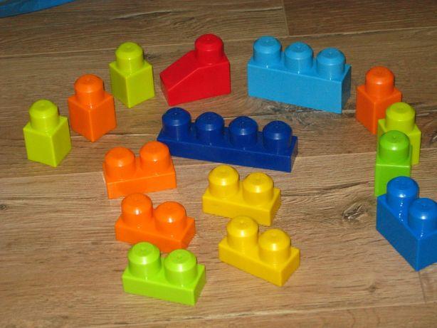 Конструктор для малышей крупный Mega Bloks отличное состояние