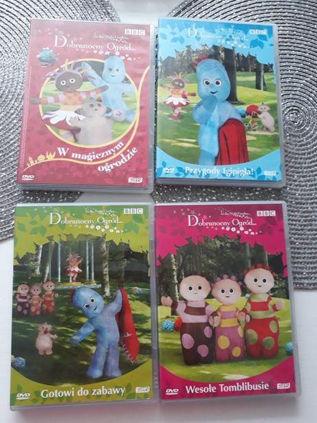 4 bajki dvd