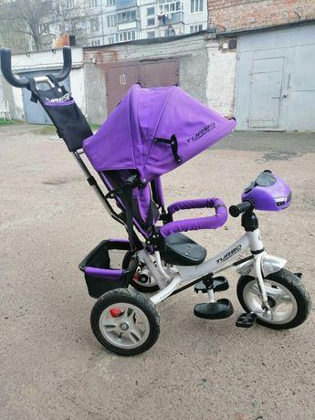 Детский трёх колёсный велосипед Turbo.