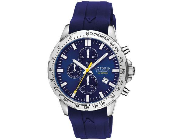 Zegarek Aztorin Sport A058 wskazówkowy, chronograf, datownik,tachymetr