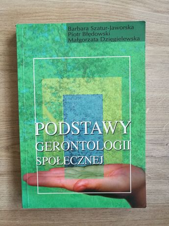 Podstawy gerontologii społecznej,B. Szatur-Jaworska,P. Błędowski_pedag