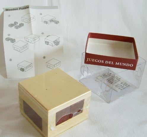 Jogos de Puzzle de madeira Novos e embalados