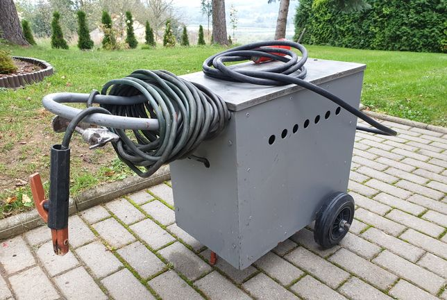 SPAWARKA Transformatorowa, Moc 300A, Przełącznik mocy, Super stan