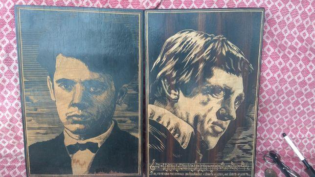 рама, рамка картина поленов пруд памятник гобеленовая портрет чеканки