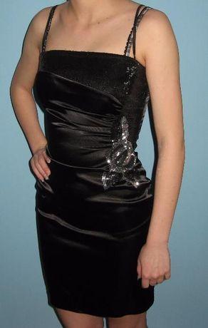 Ołówkowa sukienka cekiny + bolerko