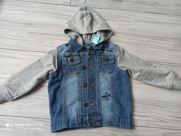 Kurtka jeansowa rozmiar 104