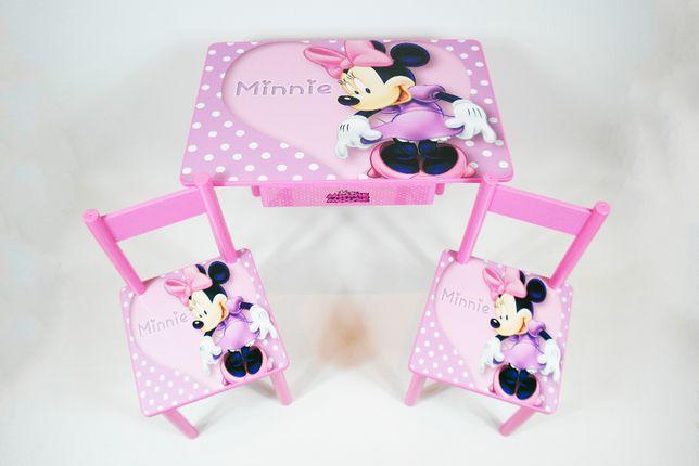 """Детский столик и стульчик """"Минни Маус"""" стол-парта стул от 1 до 7 лет"""