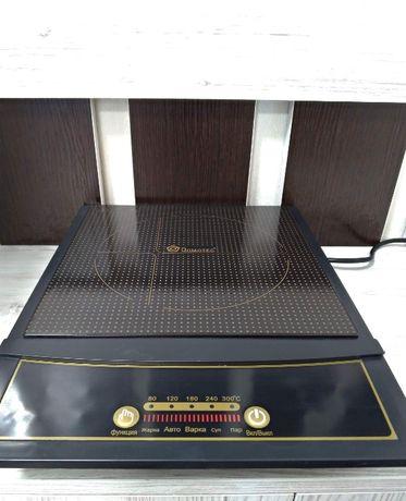 Domotec MS-5832 Индукционная электроплита однокомфорочная Домотек