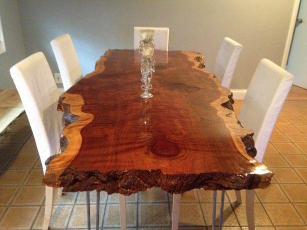 Мебель из слэба дерева. Столы из дерева. Авторская мебель в стиле LOFT