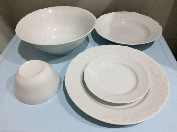 Serviço de jantar EXCEL - 18 peças em porcelana