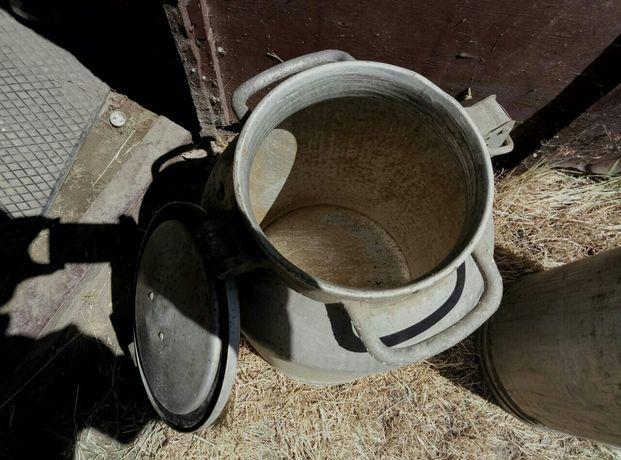 Бидон алюминиевый (молочный)