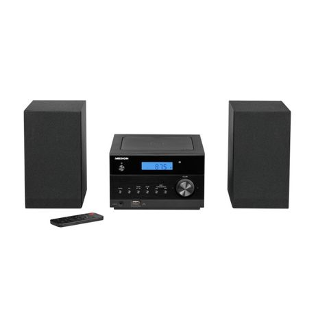 MEDION LIFE P64112 MD 43728 CD Micro Audio System PLL UKW Bluetooth US
