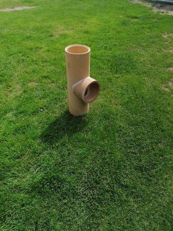 Trójnik ceramiczny do komina