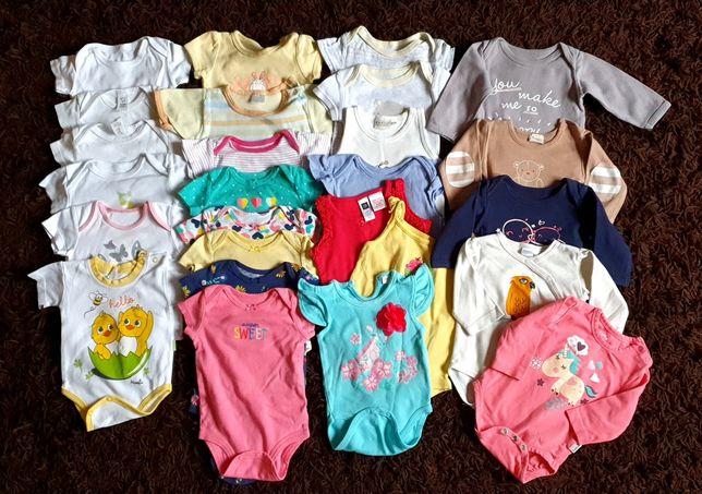 Ubranka niemowlęce dziewczynka r.62