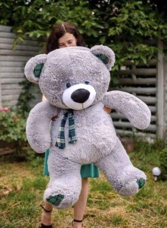 Плюшевий мiшка Томас 140см. Плюшевий медведик. Медведь
