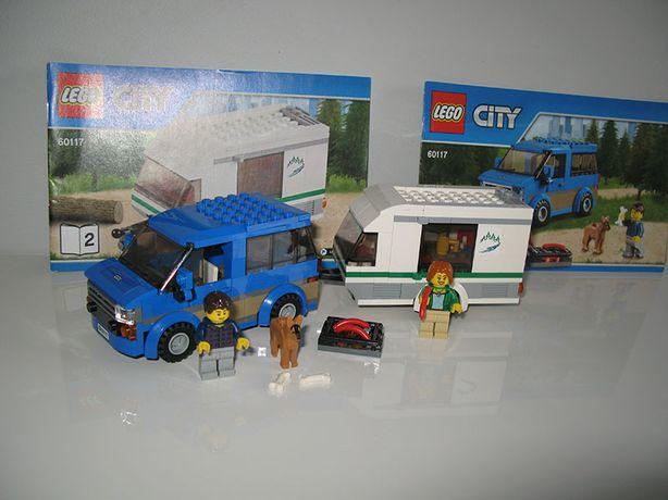 LEGO City 60117 Kamper van z przyczepą kempingową j.Nowy